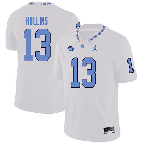 3fc40bfa0 Jordan Brand Men  13 Mack Hollins North Carolina Tar Heels College Football  Jerseys Sale-