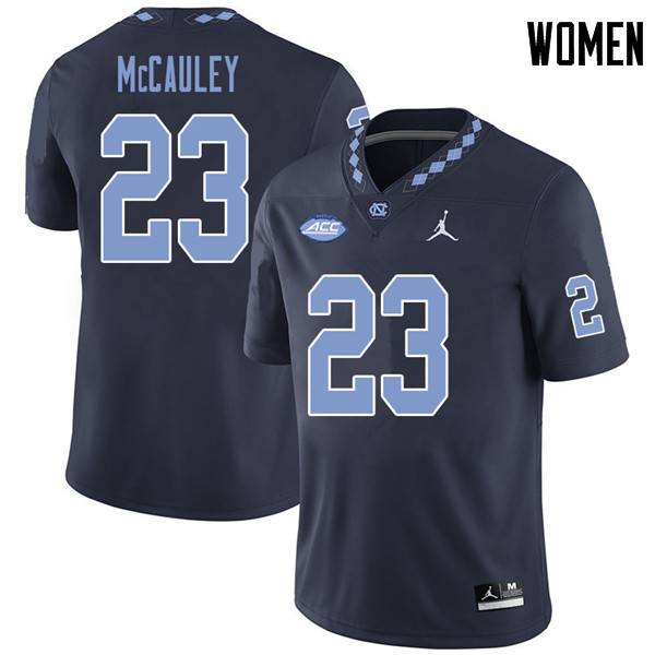 Jordan Brand Women #23 Don McCauley North Carolina Tar Heels College Football Jerseys Sale-Navy
