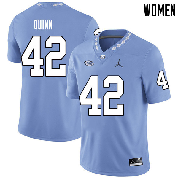 Jordan Brand Women #42 Robert Quinn North Carolina Tar Heels College Football Jerseys Sale-Carolina