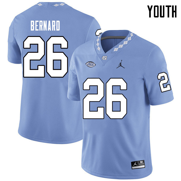 Jordan Brand Youth #26 Giovani Bernard North Carolina Tar Heels College Football Jerseys Sale-Caroli